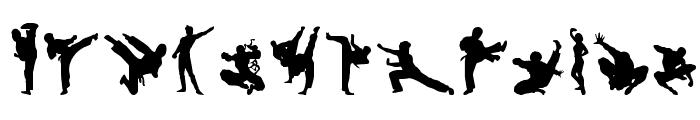 Karate Chop Font LOWERCASE