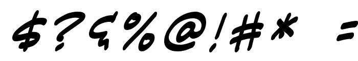 Karatula Italic Font OTHER CHARS