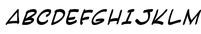 Karatula Italic Font UPPERCASE