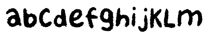 Karbon Regular Font LOWERCASE