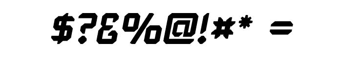 Karisma Italic Font OTHER CHARS