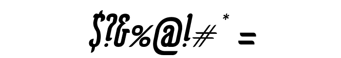 KarlKrausOblique Font OTHER CHARS