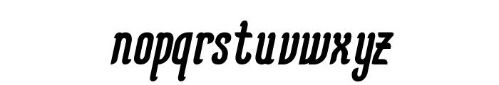KarlKrausOblique Font LOWERCASE