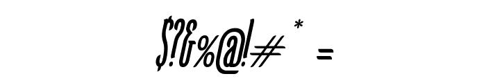 KarlKrausSansCondensedOblique Font OTHER CHARS