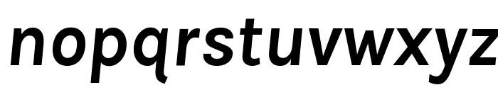 Karla Bold Italic Font LOWERCASE