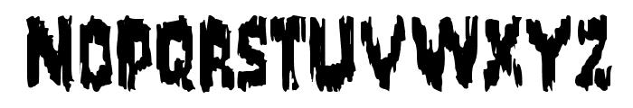 Karloff Regular Font UPPERCASE