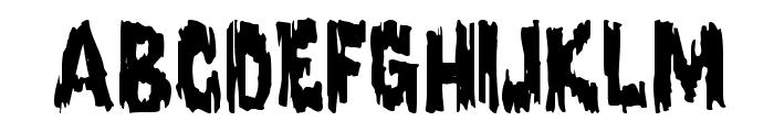 Karloff Regular Font LOWERCASE