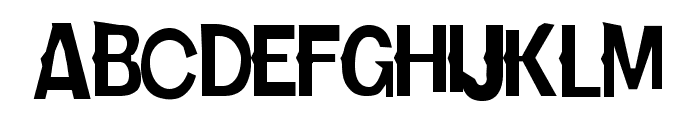 Karloff Font UPPERCASE
