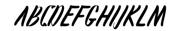 Karlote Font UPPERCASE