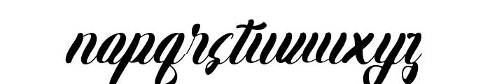 Karlote Font LOWERCASE