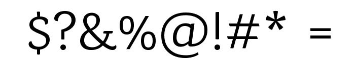 Karma Regular Font OTHER CHARS