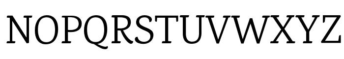 Karma Regular Font UPPERCASE