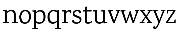 Karma Regular Font LOWERCASE