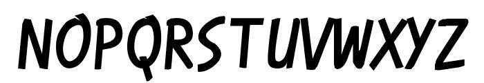 Karmatic Revolution Font UPPERCASE