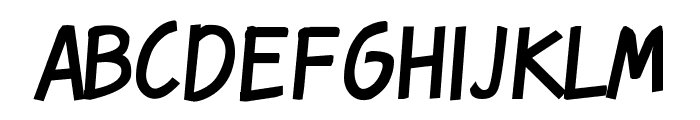 Karmatic Revolution Font LOWERCASE