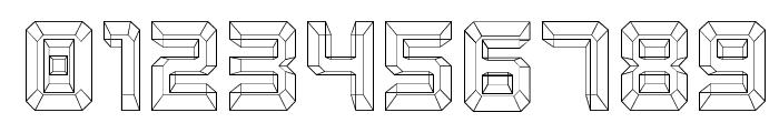 Karnivore Blue Font OTHER CHARS