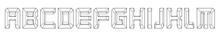Karnivore Blue Font LOWERCASE