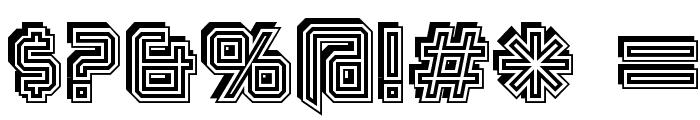 Karnivore Stack Font OTHER CHARS