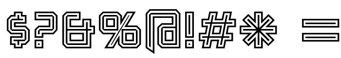 Karnivore Tecca Font OTHER CHARS