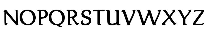 Karolina-DEMO Regular Font UPPERCASE