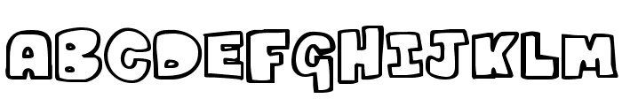 Kartoons Font LOWERCASE