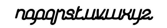 Kasih Dan Sayang Bold Font LOWERCASE