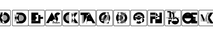 KassandrasMonogramme Font LOWERCASE
