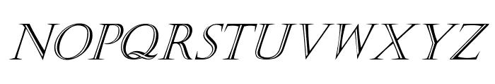 Kastellar Italic Font LOWERCASE