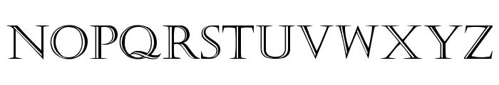 Kastellar Regular Font UPPERCASE