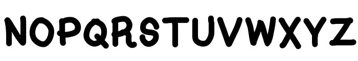 Kasuki Hand Bold Font UPPERCASE