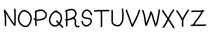 Kasuki Hand Light Font UPPERCASE