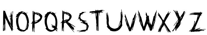 Kat Skratch Font LOWERCASE