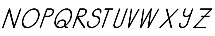 Kata Bidalan Italic Bold Font UPPERCASE