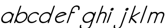 Kata Bidalan Italic Bold Font LOWERCASE