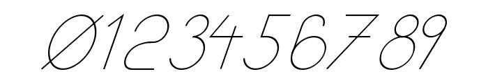 Kata Bidalan Italic Font OTHER CHARS