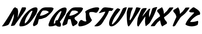 Katana Italic Font LOWERCASE