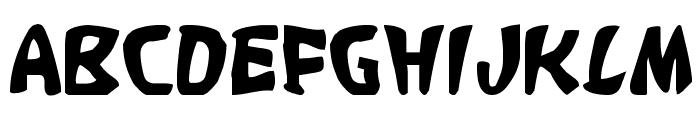 Katana Font UPPERCASE