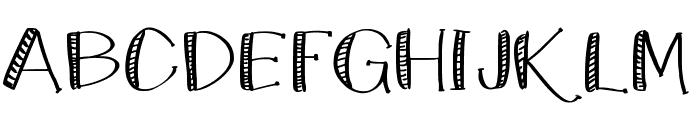 KateCelebration Font UPPERCASE