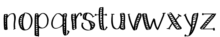 KateCelebration Font LOWERCASE