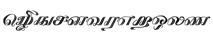 Kathanakuthugalam Regular Font LOWERCASE
