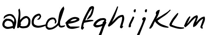 KathleenBold Font LOWERCASE