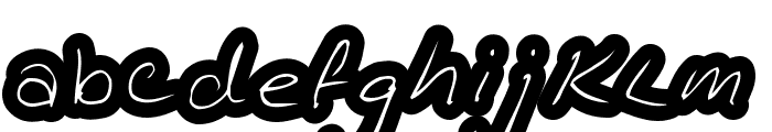 KathleenInline Font LOWERCASE