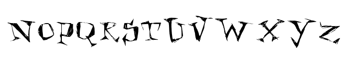 Kathouse Font UPPERCASE