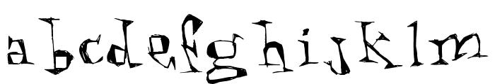 Kathouse Font LOWERCASE