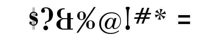 Katrina-Normal Font OTHER CHARS
