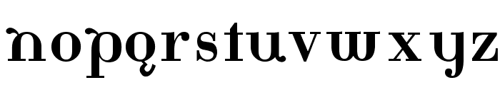 Katrina-Normal Font LOWERCASE
