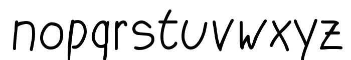 Katrins Font LOWERCASE