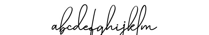 Katty Pretty 1 Font LOWERCASE