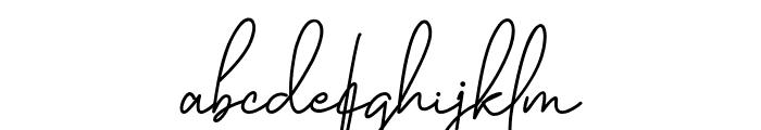 Katty Pretty 2 Font LOWERCASE