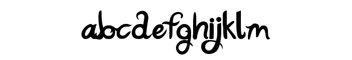 Katy Berry Font LOWERCASE